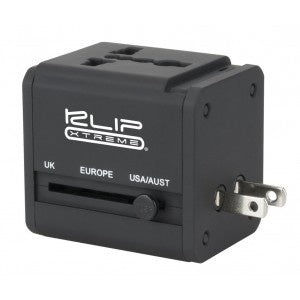 Klip Xtreme Universal All-In-One Travel Adapter