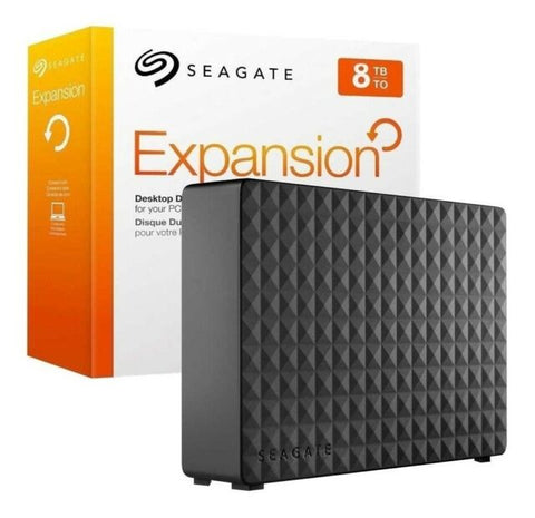 Seagate Expansion Desktop 8TB External Hard Drive HDD – USB 3.0
