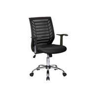 Sit M180BK Manager Chair, Mesh Fabric - Black