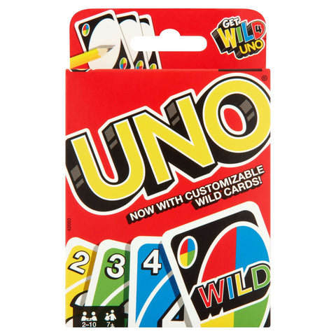 UNO Card Game w/ Wild Customizable Cards