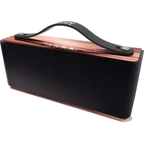 Coby Premium Bluetooth Speaker w/ Built-in Mic - Pink