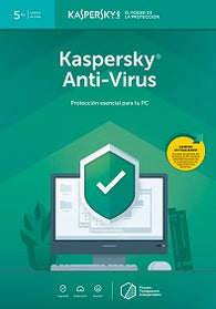 Kaspersky Anti-Virus Latin America Edition 5 Desktop Digital Download (1 year)