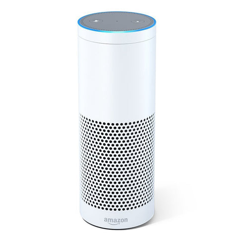 Amazon Echo Voice Activated Speaker - White