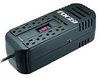Forza AVR FVR-1211B Black 8 Outlets