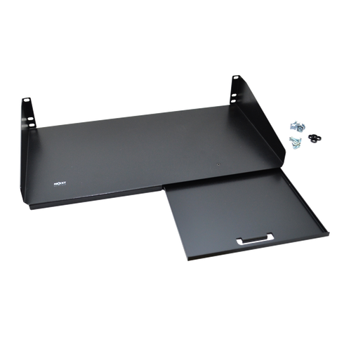 Nexxt Keyboard Shelf With Mouse Shelf