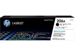 HP 206A Black Laser Jet Toner Cartridge (W2110A)