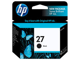HP 27 - Black 3320 - 3550 - 3650 - 10ml