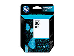 HP 88 Black Ink Print Cartridge - 20.5ml