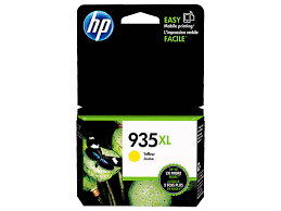 HP 935XL High Yield Yellow Original Ink Cartridge (C2P26AN)