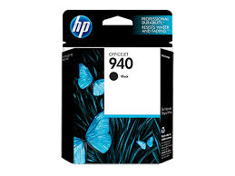 HP 940 Black Officejet Ink Cartridge - 22ml