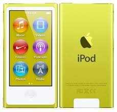 Apple iPod Nano 16GB Yellow 7th Gen