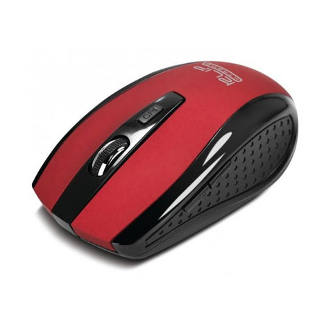 KlipX Optical Wireless Mouse (KMW-340RD) Red