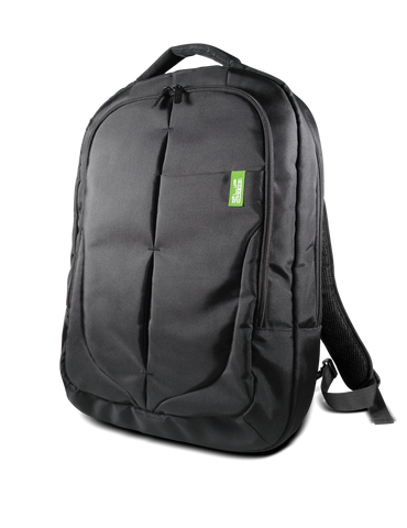 "KlipX Blackstone Notebook Backpack 17.3"" Black KNB-419BK"