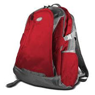 "KlipX Notebook Backpack 15.6"" KNB-435RD Red"