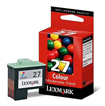 Lexmark 27 Tri-Colour Ink Cartridge
