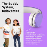 LilGadgets Connect+ Premium Volume Limited Wired Headphones w/ SharePort for Children