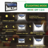 Litom Outdoor Wireless 24 LED Motion Solar Lights
