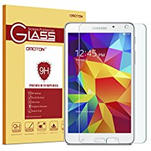 Samsung Galaxy Tab 4 7.0 Screen Protector, OMOTON Tempered Glass Screen Protector