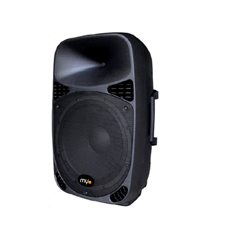 MYO Passive Black Loudspeaker 250W Woofer/Handle
