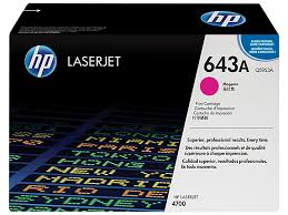 HP 643A Magenta Original LaserJet Toner Cartridge (Q5953A)
