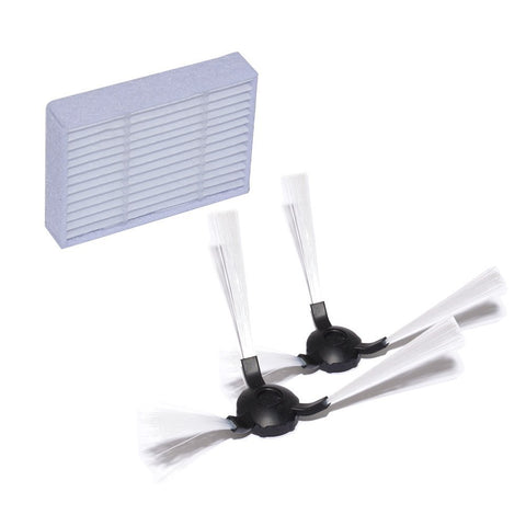 RolliBot BL618 - Pair of Side Brushes and Air Filter