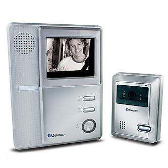"Swann Video Doorphone With 4"" B&W LCD"