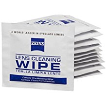 Zeiss Lens Wipes - For Cleaning Optical Surfaces
