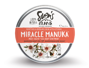 麥蘆卡的奇蹟-全效抗敏修復軟膏 MIRACLE MANUKA- MEDI-SALVE ALL BODY OINTMENT 60G