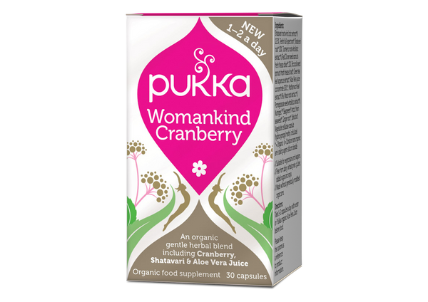 Womankind Cranberry 30 Capsules