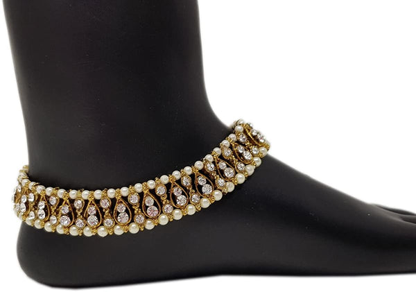 bedis-pearl-&-stone-payal-anklet-indian-foot-jewellery-bollywood-kundan-feet-chain-women-ankle-chain-party-wear-model-209