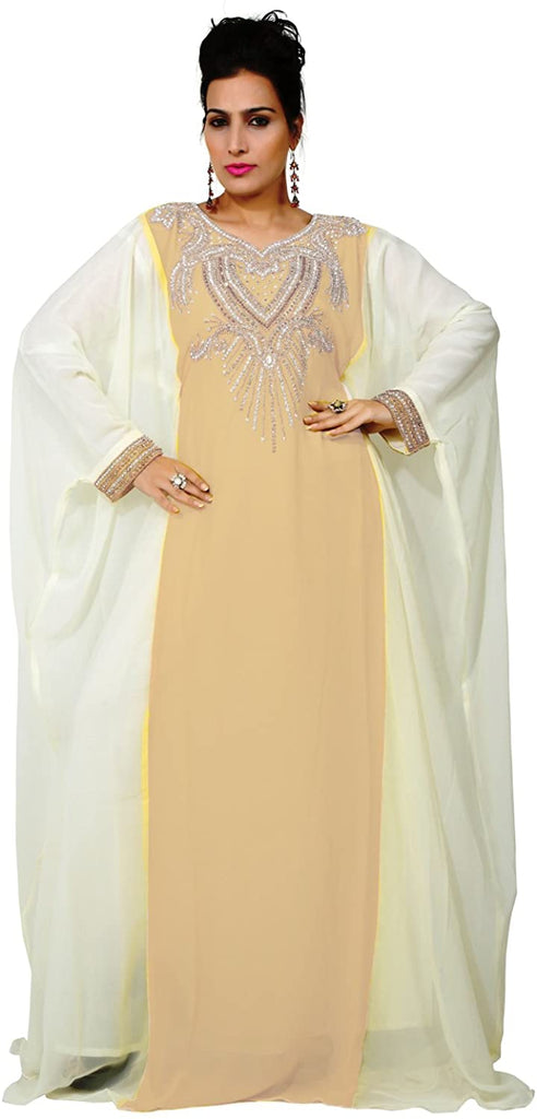 bedis-uae-style-womens-farasha-eid-ethnic-wear-maxi-arabic-islamic-muslim-dress-kaftan-long-dress-one-size-beige-kaf-2933-beig-kaf-2933