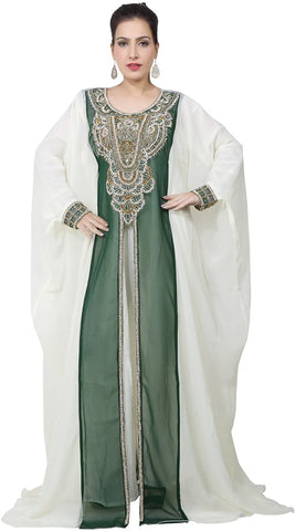 bedis-uae-style-womens-farasha-maxi-arabic-islamic-muslim-dress-kaftan-long-dress-one-size-bottle-green-kaf-2935-bg-kaf-2935