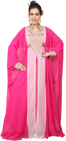 bedis-uae-style-womens-farasha-maxi-arabic-islamic-kaftan-long-dress-one-size-hot-pink-kaf-2939b-hpink-kaf-2939b