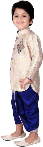 bedis-dhoti-combo-sherwani-suit-pyjama-wedding-party-wear-boys-toddler-infant-ethnic-cowl-pant-traditional-wear-dc-9920-gldrb-1-dc-9920