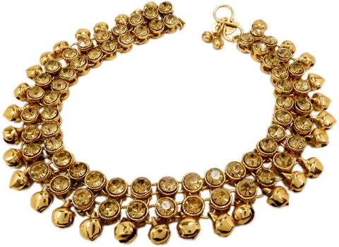 bedis-bell-anklet-indian-foot-jewellery-bollywood-kundan-feet-chain-women-ankle-chain-party-wear-ghungru-payal-model-100-pay-100parent