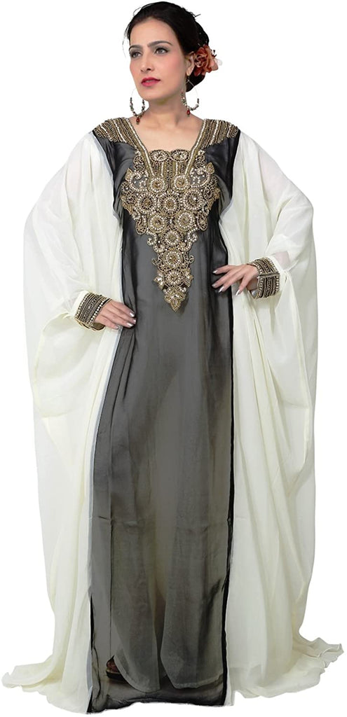 bedis-uae-style-womens-farasha-eid-ethnic-wear-maxi-arabic-islamic-muslim-abaya-dress-jilbab-kaftan-long-dress-free-size-black-kaf-2927blk-kaf-2927