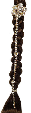 CHOTI Hair Palette Hair Accessory BUN PIN Indian Hair Bellydance Jewellery Decoration PARANDI Wedding Hair DECOR-CHO-1005