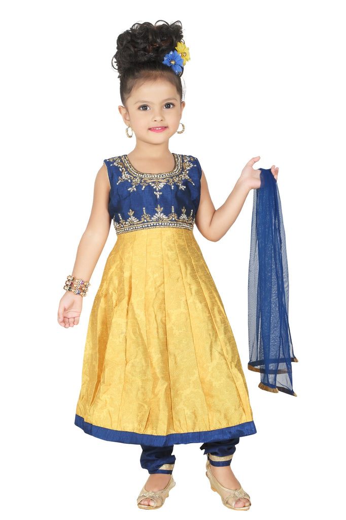 Baby Girl Salwar Suit New Born Infant Frock Suit Churidar Dress Wedding Prom Partywear + Leggings Toddler Ethnic Traditional Dupatta Suit