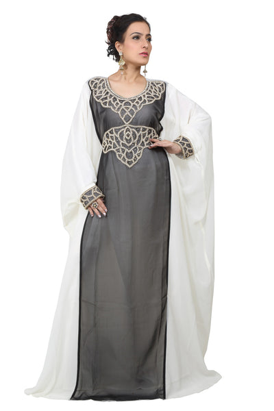 BEDI'S UAE STYLE WOMEN'S FARASHA MAXI ARABIC ISLAMIC KAFTAN LONG DRESS - ONE SIZE (KAF-2611)