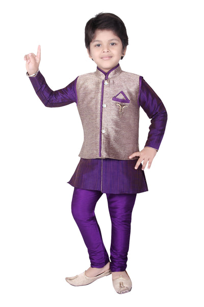 Pant Sherwani Suit With Pyjama Wedding Indian Party Wear Boys Toddler Infant Ethnic Trouser Traditional Wear (TC-9987)