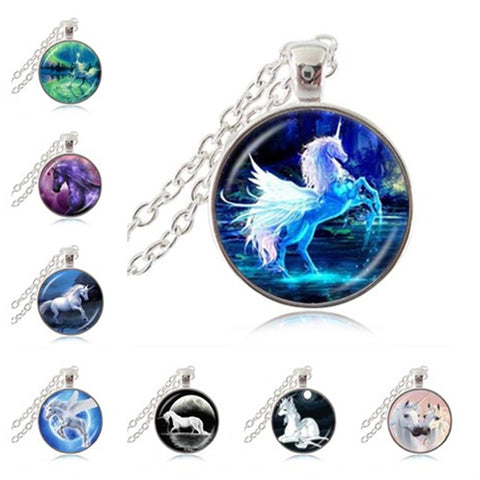 Moonlight Unicorn Necklace