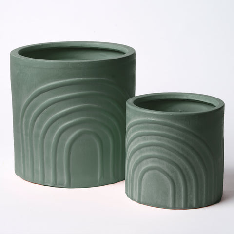 RAINBOW POT SET GREEN
