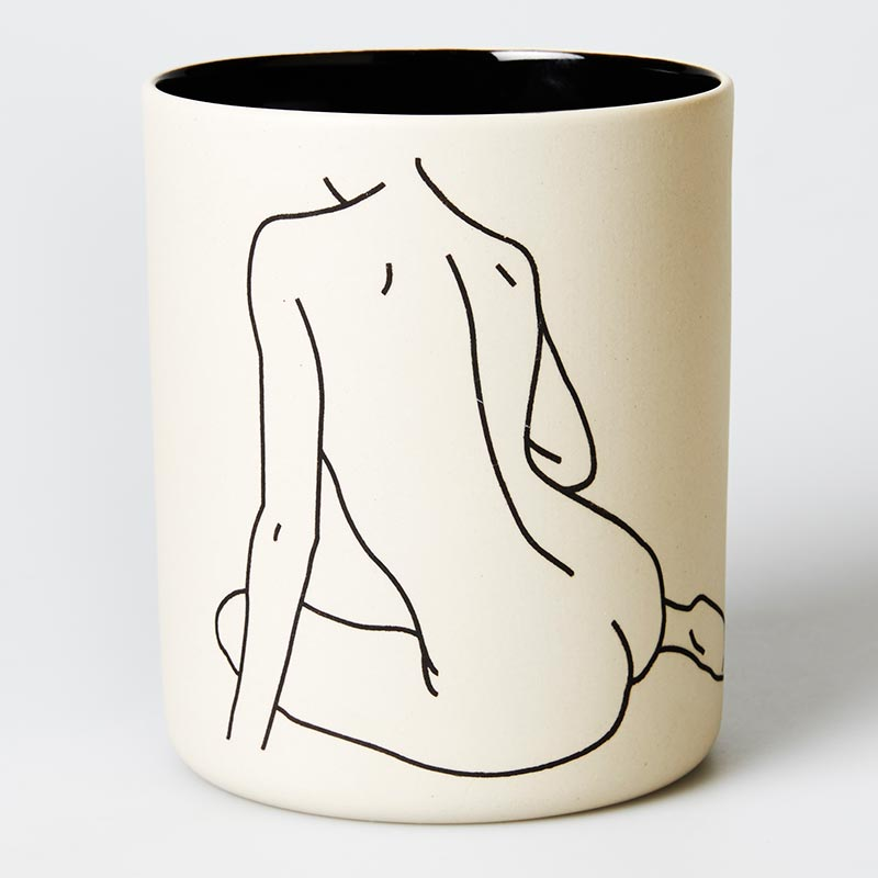 NUDE BACK PLANTER
