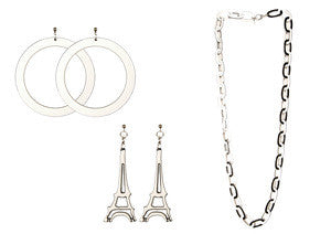 Monochrome Jewellery Collection of Paris Mode
