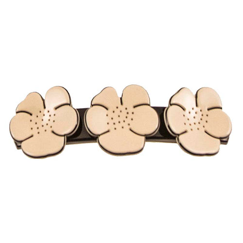 Hair Clip Triple Camelia - Parismodeshop