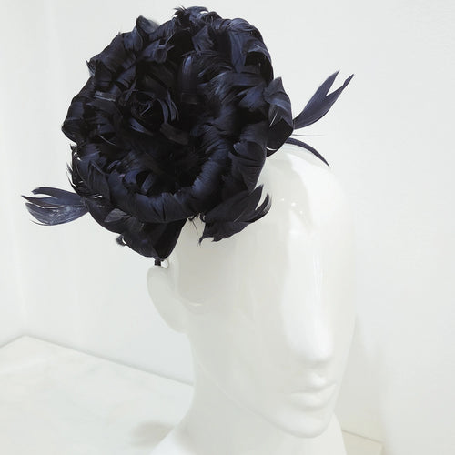 Fascinator Flower Feather