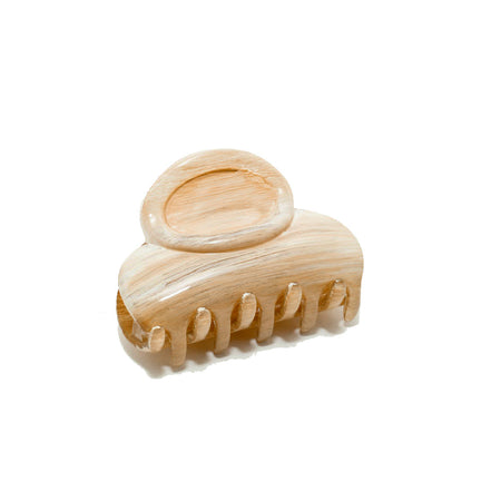 Hair Clip Micro Tortoi Shell - Made In France
