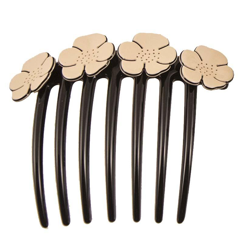 Camellia French Twist Comb