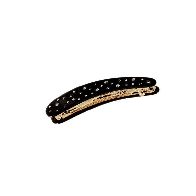 Black Semistrass Small Banana Clip S Dia Bk - Parismodeshop Hair Clips Australia