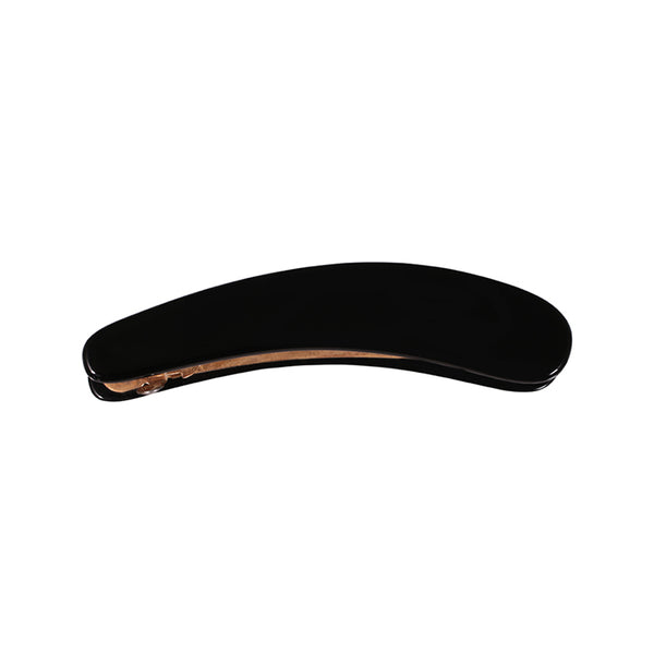 Black Small Hand Made Banana Hair Clip in Black - Paris Mode Online Shop AU